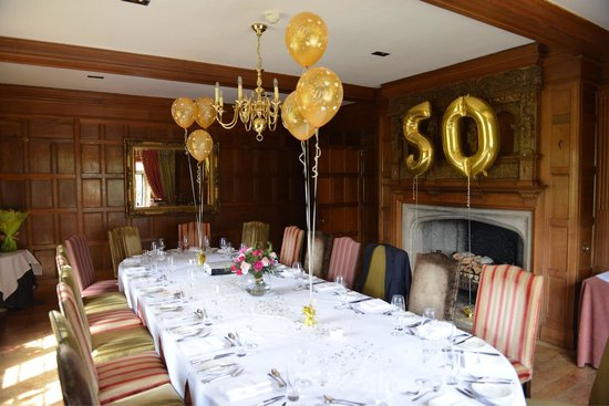 The Greenway Hotel and Spa: Private dining room