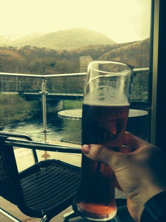Cheers. Day 5 of WHW complete with pint from Highland Getaway