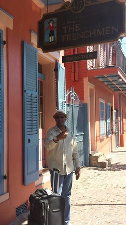 The Frenchmen Hotel: French Quarter Festbl 2014