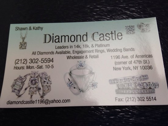Diamond Castle Jewelery