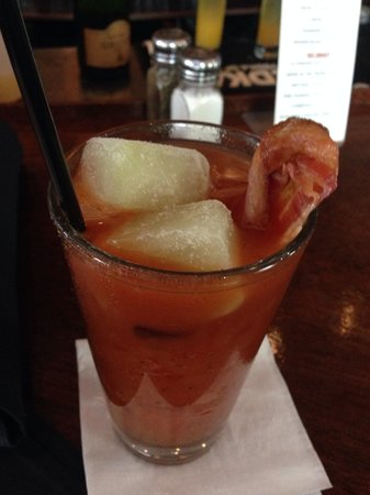 The Foxy Brown : BLT Mary I had to try it but it was just salty and watered down next time I'll skip it.