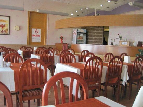 Erbil Hotel: Комната для завтраков.