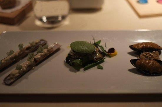 La Peca: Couteau, huîtres et moules