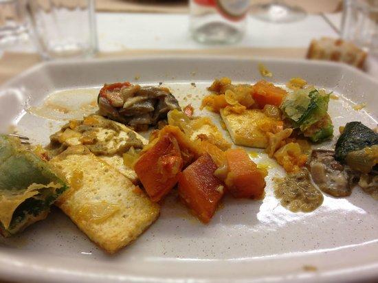 El Berenjenal : Tofu con verduras