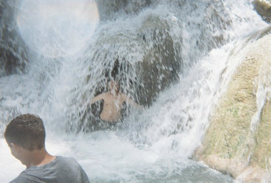 Dunn's River Falls and Park: You can hide but...