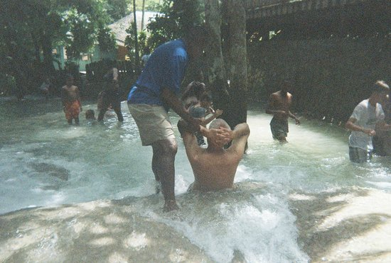 Dunn's River Falls and Park: Mini waterslide