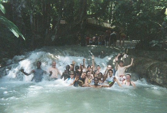 Dunn's River Falls and Park: All in!