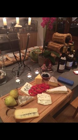 The Guest House: Best cheese board ever