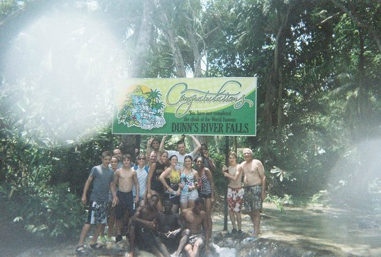 Dunn's River Falls and Park : Group pic