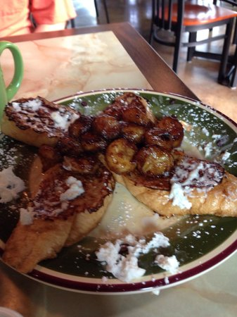 Silver Sage Grille: Banana foster French toast!