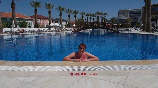 Palm Wings Beach Resort: pool side
