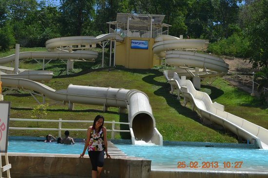 Bluejaz Beach Resort & Waterpark: giant slide