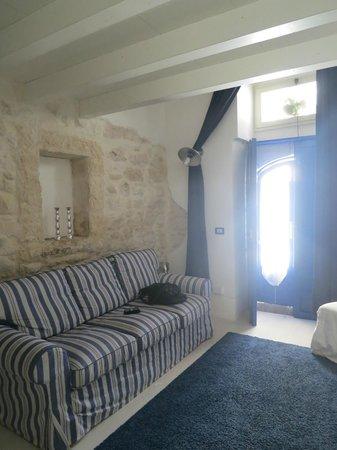 Giumbabulla Luxury House : soggiorno