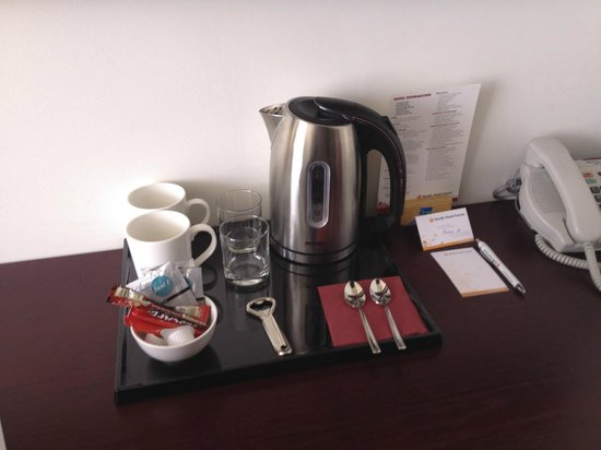 Nordic Hotel Forum: free teas at the room