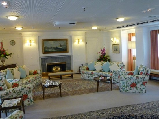 HMY Britannia: Upstairs