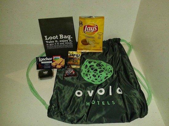 Ovolo Noho: Petits cadeaux de bienvenues dans la chambre