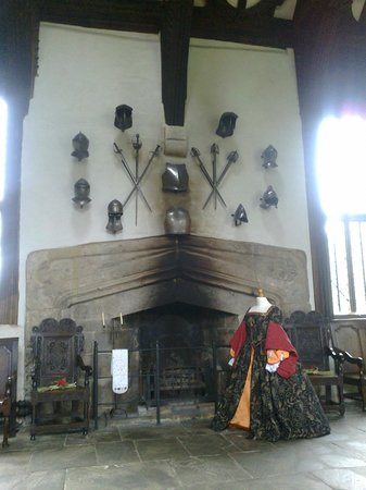 Rufford Old Hall: Inside the Great Hall