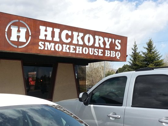 Hickory's Smokehouse BBQ: Grateful place for BBQ!