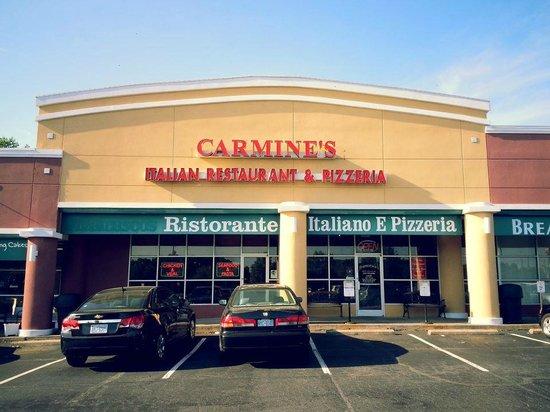 Carmine Jonestown Italian Restaurant Pizzeria S Front