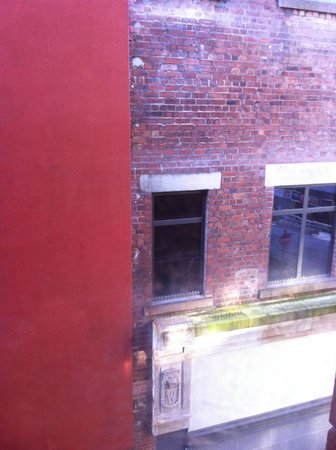 The Merchants Hotel : view from the room