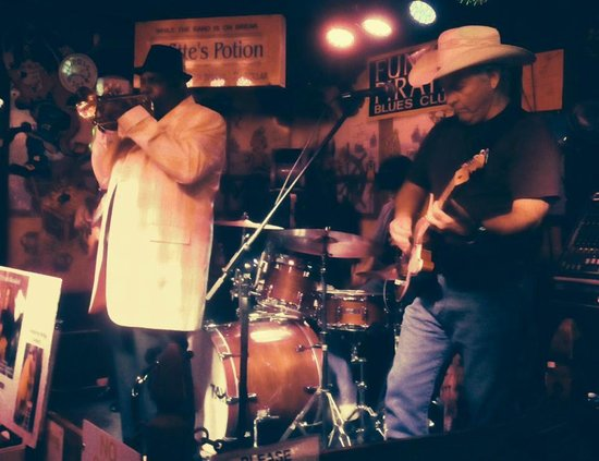 The Funky Pirate Blues Club: Amazing blues band!