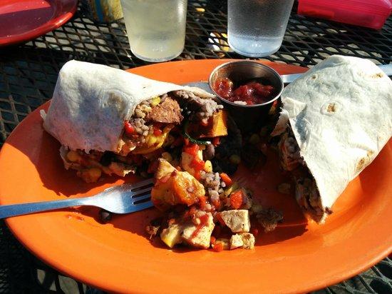 Coyote Kitchen: Gabriella burrito is a healthier option!