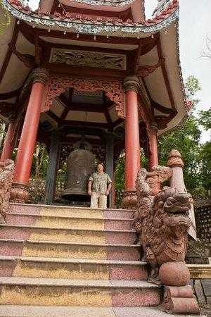 Long Son Pagoda : Колокольня