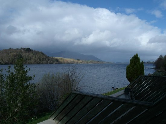 Portsonachan Hotel: View across Loch Awe