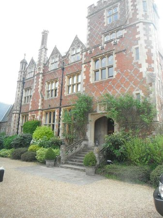 Horsted Place: Front of the house