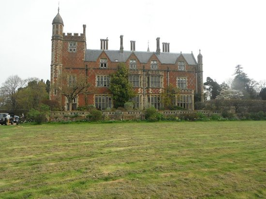 Horsted Place: Side of the house