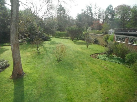 "Horsted Place: View from ""Cottage"""