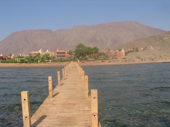 Miramar Resort Taba Heights: Vu du grand ponton