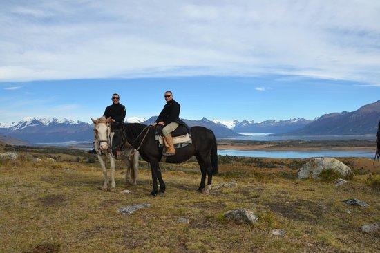Cabalgata del Glaciar: Nosotros
