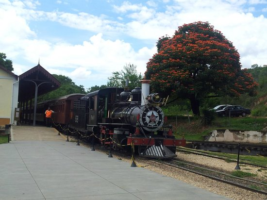 Steam train to Sao Joao del Rei: O entorno da estação