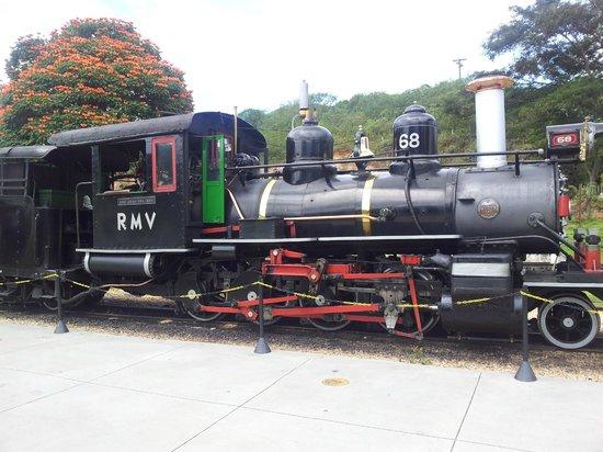 Steam train to Sao Joao del Rei: A máquina