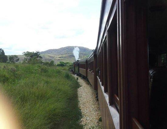 Steam train to Sao Joao del Rei: Imagem do som!