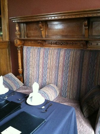 Rockwell's: Romantic nook - but needs a more firm cushion