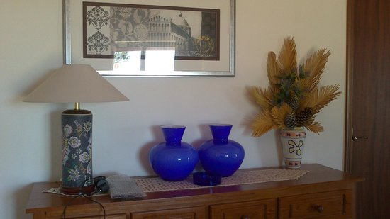 Quinta dos Caracois: Decor in sitting room area