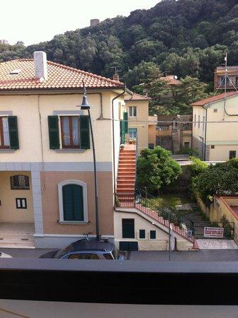 Hotel Miramare: vista strada