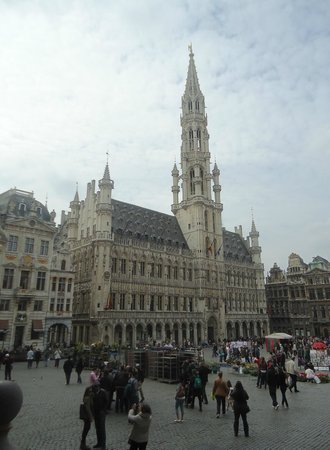 Grand Place/Grote Markt: Grand-Place - April,2014