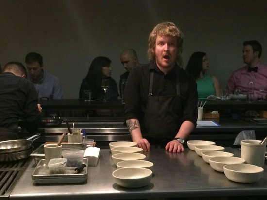 The Catbird Seat: Executive Chef Trevor Moran being awesome.