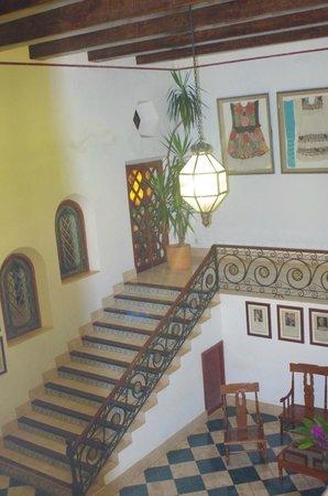 Hotel Hacienda Uxmal Plantation & Museum : entrada de la hacienda