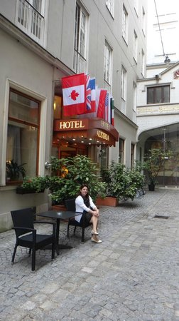 Hotel Austria: Fachada