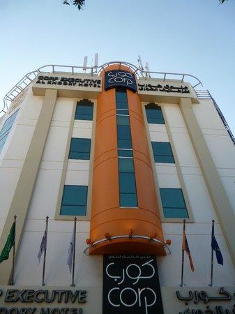Al Khoory Executive Hotel – Al Wasl: Façade de l'hôtel