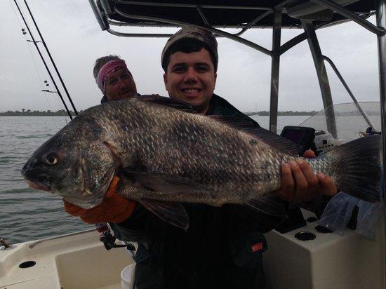Big Redfish Daytona Fl Picture Of The Fishing Guy