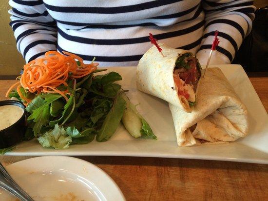 Fardowners Restaurant: Steak wrap