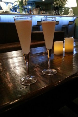The Aubrey Boutique Hotel: Drink de boas-vindas!