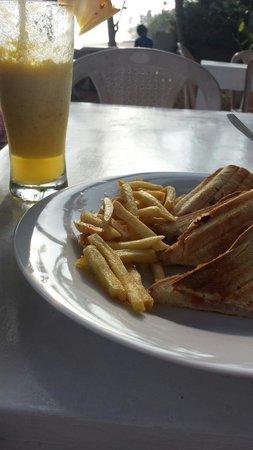 Beach Inns: Amazing food