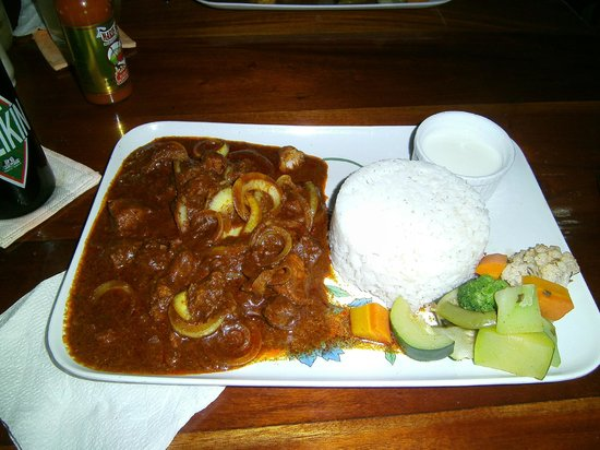 Ko-Ox Han nah: Spicy vidaloo