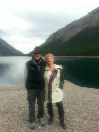 Johns Bavarian Tours: John and me at Plansee